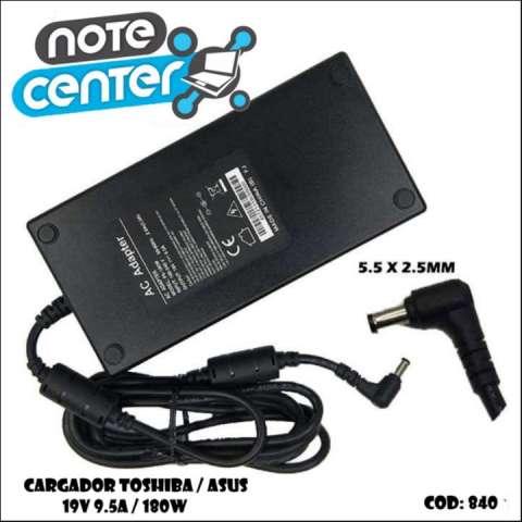 Cargador para notebook Toshiba Asus 19V 9.5A 5.5X2.5 -180W