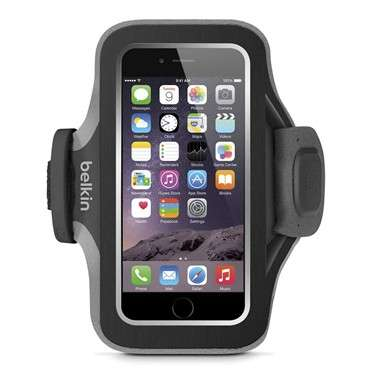 SlimFit Plus Armband for iPhone 6 - Black - 0
