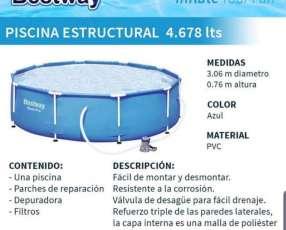 Piscina capacidad 4678 litros