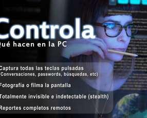 Monitoreo total de computadora