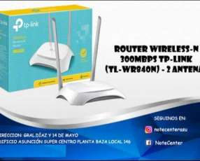 Router Wireless-N 300Mbps TP-Link (TL-WR840N) 2 Antenas