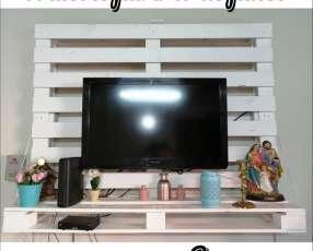 Mueble para tv de palets