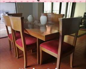 Mesa de Cedro para 6 personas