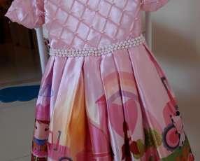 Vestido con diseño