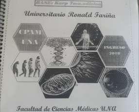Libros y resúmenes para el ingreso de Medicina en la UNA