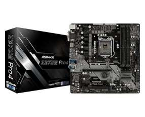MB ASROCK 1151 Z370M PRO4 V/S/R/DVI/HDMI/M2/DDR4