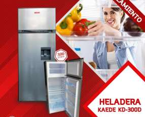 Heladera Kaede 300L Inox c/ Dispenser