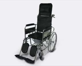 Silla de ruedas relajacion espalda y sanitario opcional