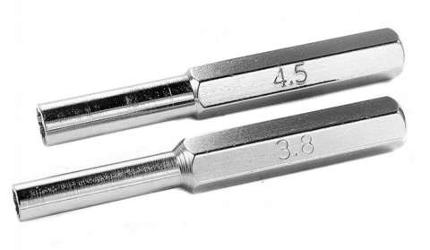 2 destornilladores 3.8mm + 4.5mm Gamebit para SNES N64