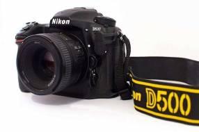 Cámara Nikon D500 – Cuerpo