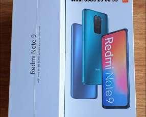 Xiaomi Redmi Note 9 de 128 gb nuevos