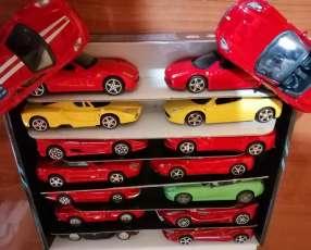 Colección Ferrari 16 autos escala 1:43