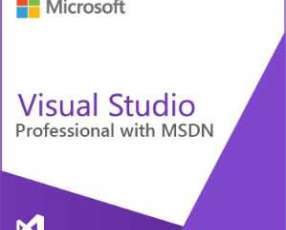 Software microsoft visual studio w/msdn all language assuran