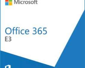 Software microsoft office 365 e3 olp nl annual gov qlfd y licencia