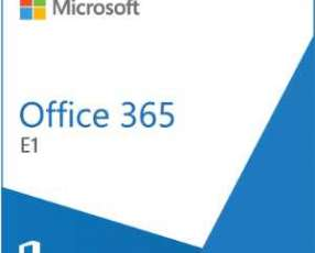 Software microsoft office 365 e1 olp nl annual gov qlfd y licencia