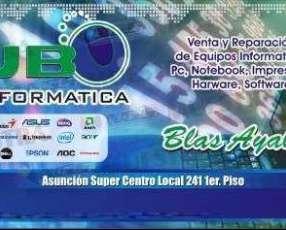 Reparación de notebook y pc de todas las marcas