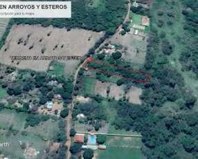 Terreno en arroyos y esteros 1500 m2