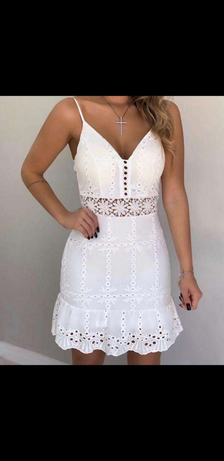 Vestido blanco - 0