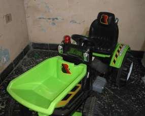 Mini tractor a batería