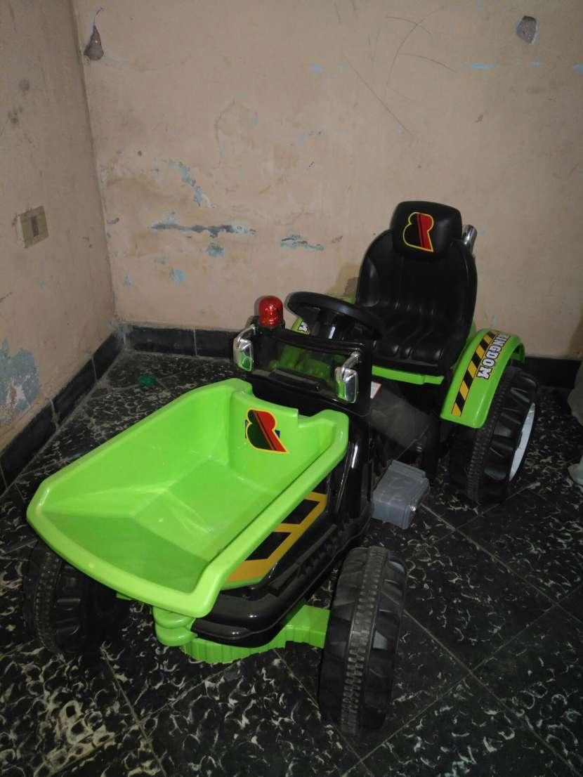 Mini tractor a batería - 0