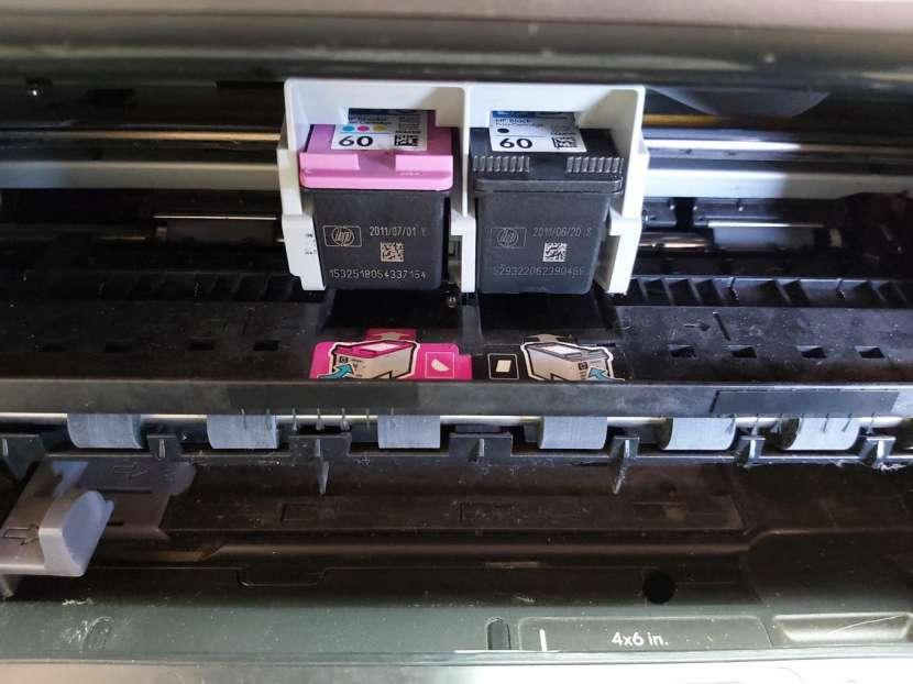 Impresora HP con escáner - 2
