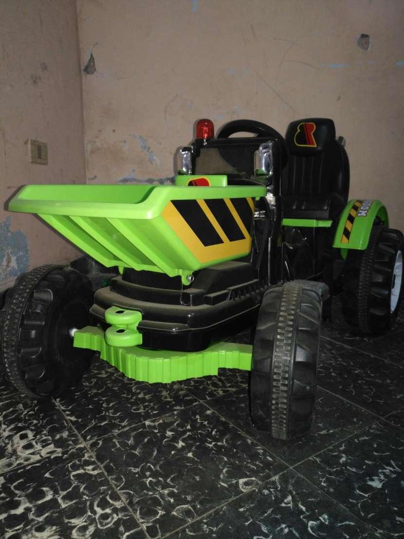 Mini tractor a batería - 3
