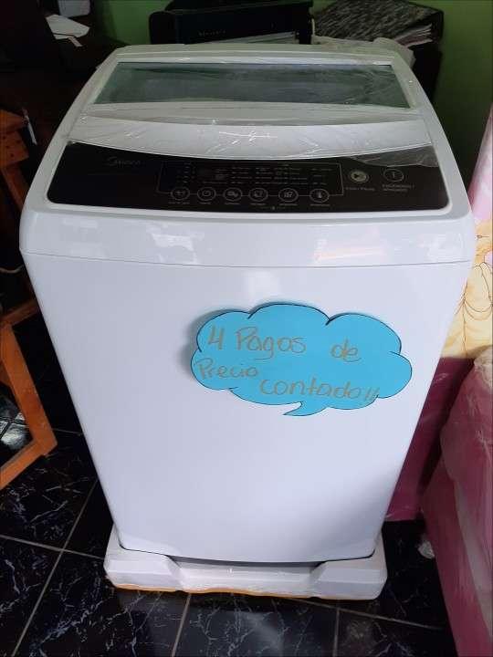 Lavarropas automática Midea de 7 kilos - 0