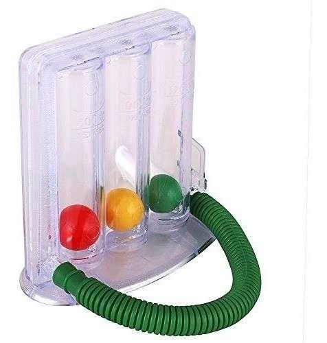 Incentivador respiratorio ejercitador de pulmones - 1
