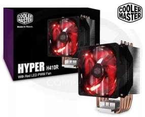 Cooler master H410 red LED