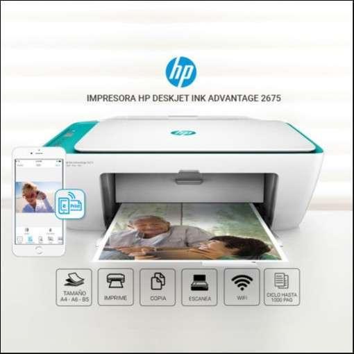 Impresora multifuncional hp 2675 - 0