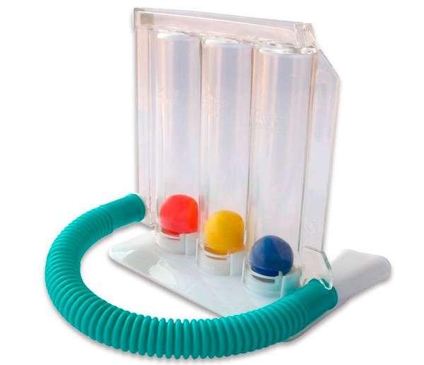 Incentivador respiratorio ejercitador de pulmones - 0