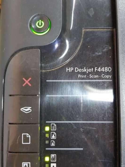 Impresora HP con escáner - 1