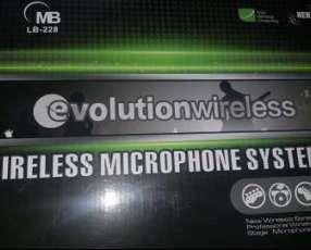 Micrófono inalámbrico dual