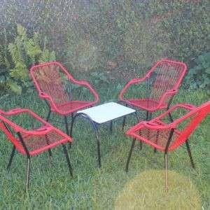 Juego jardín sillón de cable reposerita - 0
