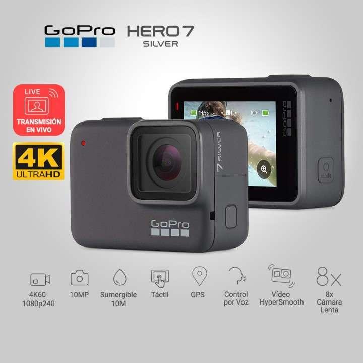 Go Pro Hero 7 Silver. - 0