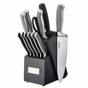 Set de cuchillos de acero inoxidable Cuisinart USA 13 piezas