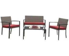 Mueble Juego Set de jardín tipo Ratan