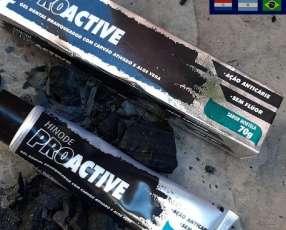 Blanqueador dental con carbón activado y aloe vera