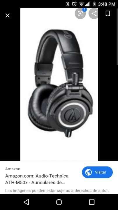 Auriculares m50x audio Technica - 0