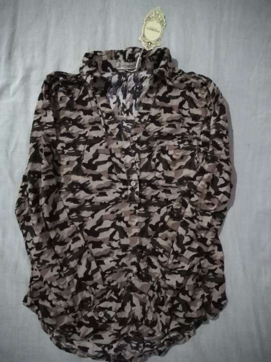 Camisas de algodón M - 1