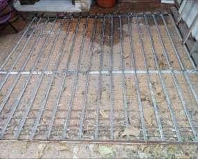 Reja de metal para porton 2,8 m x 2,8 m