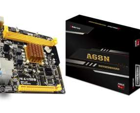 Placa madre Mini itx con procesador AMD silent