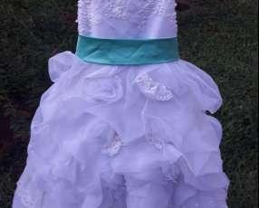 Vestidos de fiestas para niñas talle 2, 6, 8