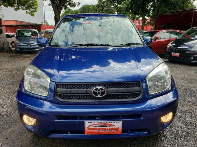 Toyota rav4 color azul 2005 - 4