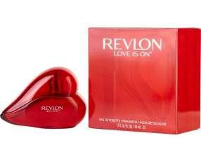 Fragancia para damas revlon -love is on. 50 ml