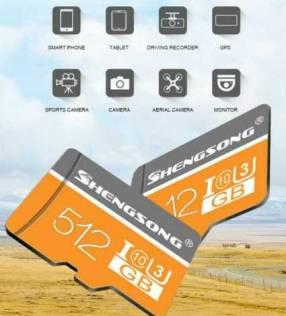 MicroSD 512gb Class 10