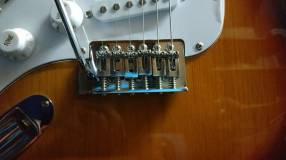 Guitarra Stratocaster Harley Benton para zurdos