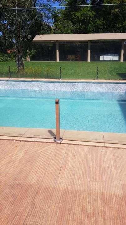 Baranda de vidrio para piscina - 2