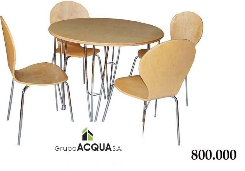 Mesas redondas - 1