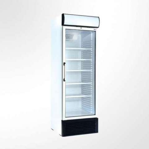 Exhibidora Ugur ufr440gdl 440 litros para congelados con cenefa baja